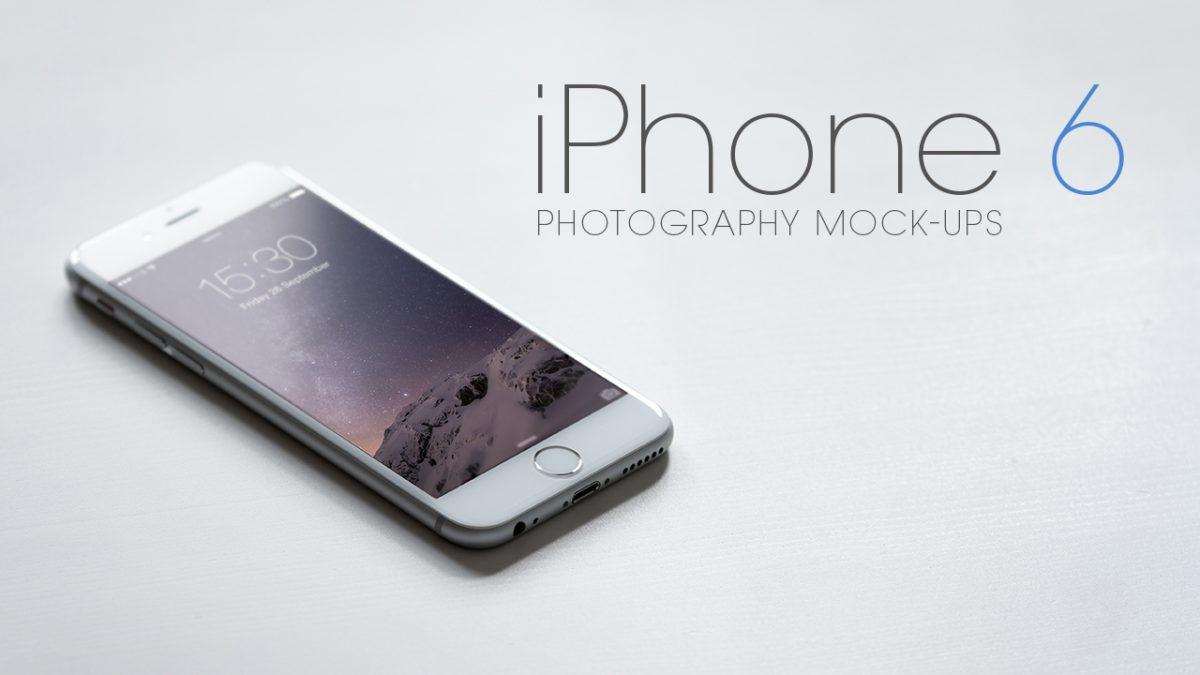 iPhone 6 Mock-Ups Freebie