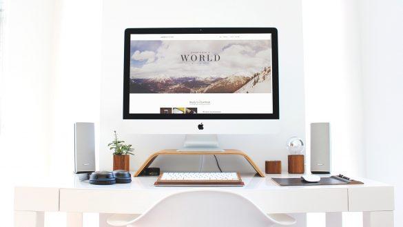 iMac Workspace Mock-Up freebie free download